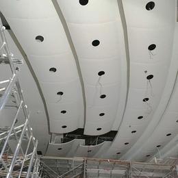 贵港法院吊顶铝单板 白色弧形铝单板 波浪形铝单板天花