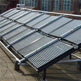 分体式真空管太阳能集热水器 厂家承接小区壁挂式太阳能热水工程
