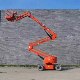 14米曲臂升降機 星漢柴油機升降作業車報價