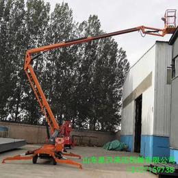 阿勒泰電動液壓升降作業車 18米柴油機升降機供應 升降臺