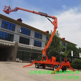 乌苏市全自动液压升降车18米升降作业平台星汉18米升降机报价