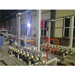 中瑞PP纤维一出二打包带单螺杆片材挤出机生产设备
