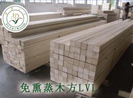 防水防腐胶合强度高的免熏蒸木方