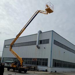 16米曲臂升降机 厂家直销野外维护升降车供应