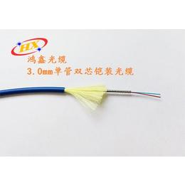 东莞鸿鑫光缆厂家直销铠装光缆系列产品单模双芯铠装光缆