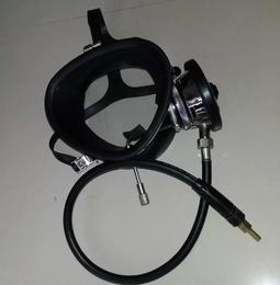 693潜水面罩头盔 可调节式污水打捞全面罩 可配JQ83
