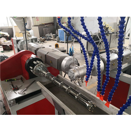 PVC加筋管生产线单螺杆管材挤出机设备