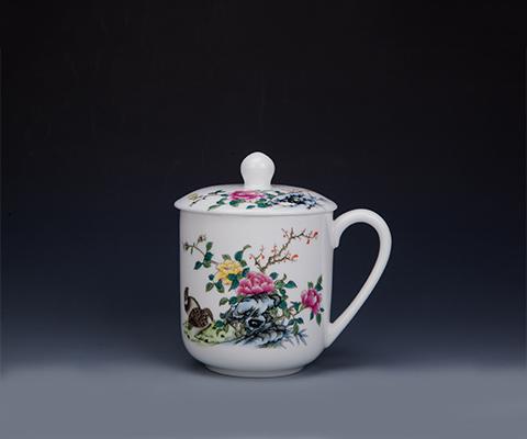 红官窑茶杯