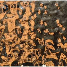 杭州****场所吊顶墙装饰专用水波纹不锈钢