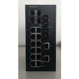正维通信千兆工业交换机8000B-4GS-2S-14T-WR