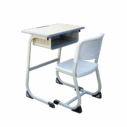 2018新款包边小学生培训学校桌椅 套装单人儿童写字桌椅缩略图