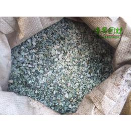 广东大量供应鱼缸盆栽铺面装饰砾石石米石 彩色小石子