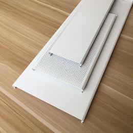 地下通道吊顶铝扣板 C型铝扣板 白色条形铝扣板