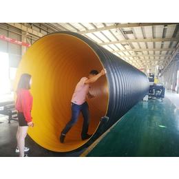 批发钢带增强聚乙烯PE管钢带管材