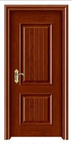 专业定制红色高端实木复合平开门