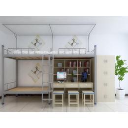 江西校用公寓家具 连体组合公寓床厂家生产