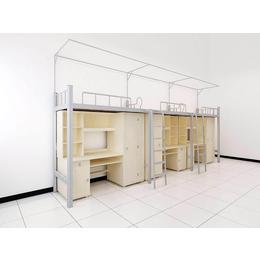 学校职工连体组合公寓家具 双层床缩略图