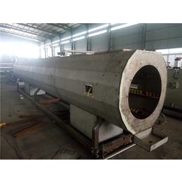 PE管生产线单螺杆管材挤出机设备