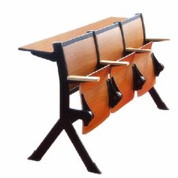 礼堂椅生产 翻转学生课桌椅 阶梯教室椅批发缩略图
