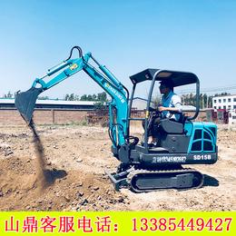 直供厂家微型挖掘机 全新多功能15型微型挖掘机