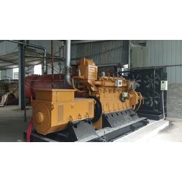 安徽400kw千瓦生物质气发电机组价格 大功率工业燃气发电机