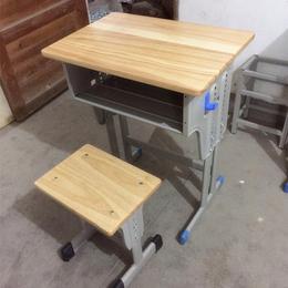 江西厂家学生单人课桌 凳子 热卖批发