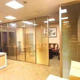 高档办公室玻璃隔断  效果图