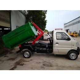 口碑好的2吨3吨勾臂式垃圾车价格配置附图片说明
