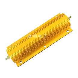 乐清 500W 黄金铝壳富士变频器制动电阻 线绕电阻器