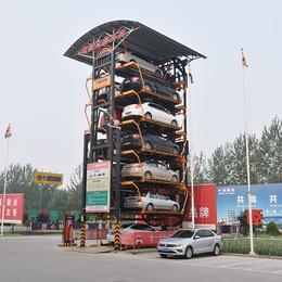 垂直循环式机械式停车设备九路泊车国内技术lingxian企业