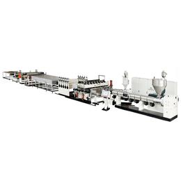 SJZ120新型建筑模板设备 PP中空建筑模板生产线厂家直销