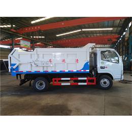5吨污泥运输车+5吨污泥车配置+5立方污泥车价格