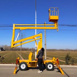 14米曲臂升降机 安宁柴油机升降机制造 14米曲臂升降平台