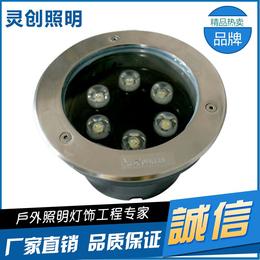 山东济南黄光LED水底灯可信赖的厂家灵创照明