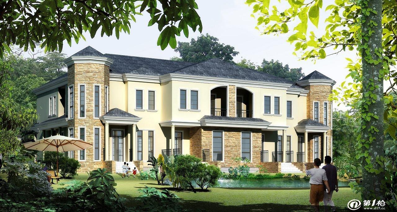 钢结构别墅材料:   墙体:轻钢结构 保温材料 各种挂板/轻体水泥板