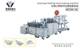 河源口罩制造机-恒耀设备自动焊阀功能-绑带口罩制造机
