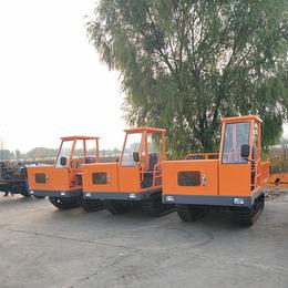 水渠履带运输车 水利工程橡胶履带车多少钱 山东厂家直销
