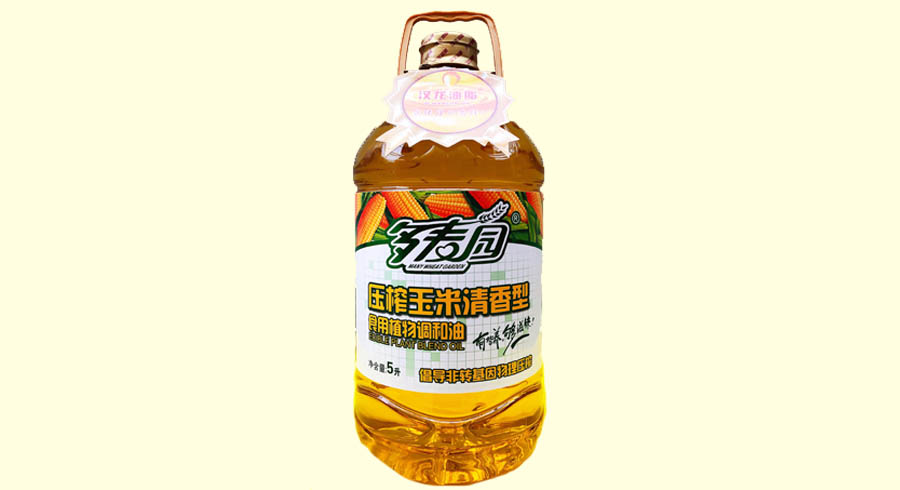 多麦园-压榨玉米清香型食用植物调和油
