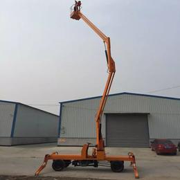 14米曲臂升降机 江西省高空作业平台 星汉高空维修升降车报价