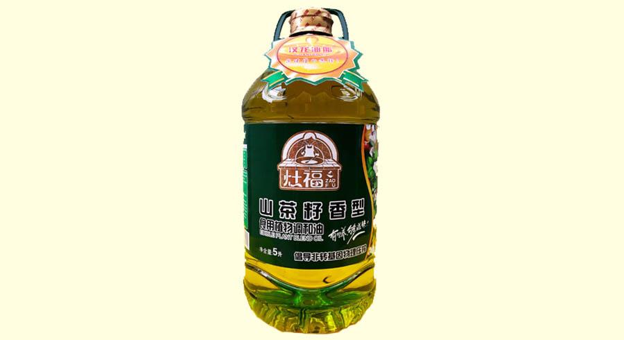 灶福-山茶籽香型食用植物调和油