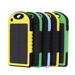 超薄小三防太阳能手机充电宝便携式户外电源