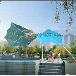 膜結構游泳池遮陽棚景觀棚張拉膜索膜廣場膜結構工程