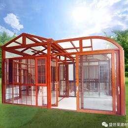 广东盛世莱系统阳光房005  江西门窗订制