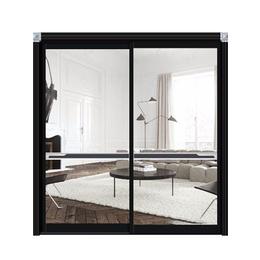 派瑞雅  瓷漆黑 断桥铝门窗