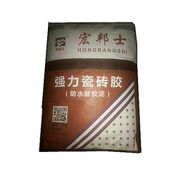 宏邦士强力瓷砖胶防水益胶泥
