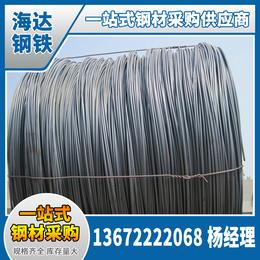 江西海达现货供应盘螺 盘螺销售加工线材分宜大量库存螺纹