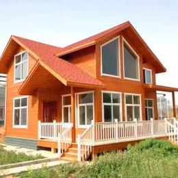 厂家设计制作防腐木木屋