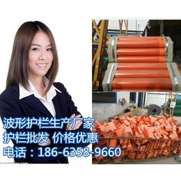 湖北荆州公路波形护栏板国标热镀锌报价18663589660