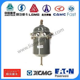 供应中国重汽 70矿配件豪沃WG9000360612制动气室