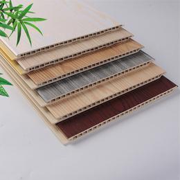 墙面装饰板 室内装饰 快装墙板扣件 竹木纤维集成墙板